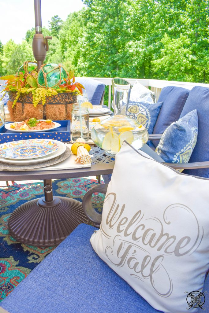 Welcome to Summertime on the Patio JENRON DESIGNS