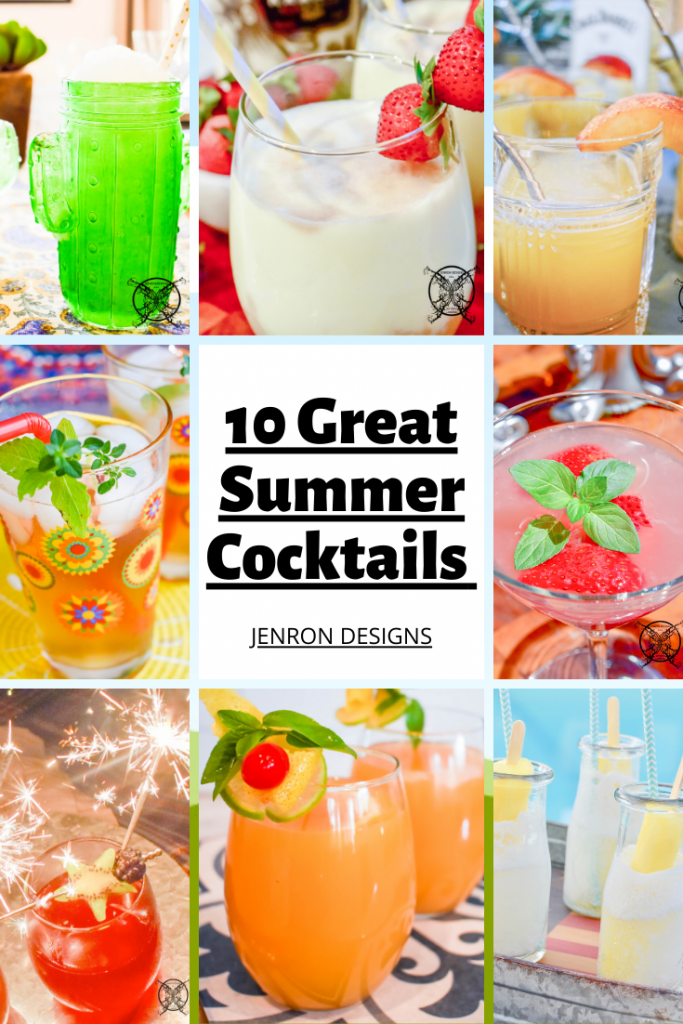 10 Great Cocktail Recipes