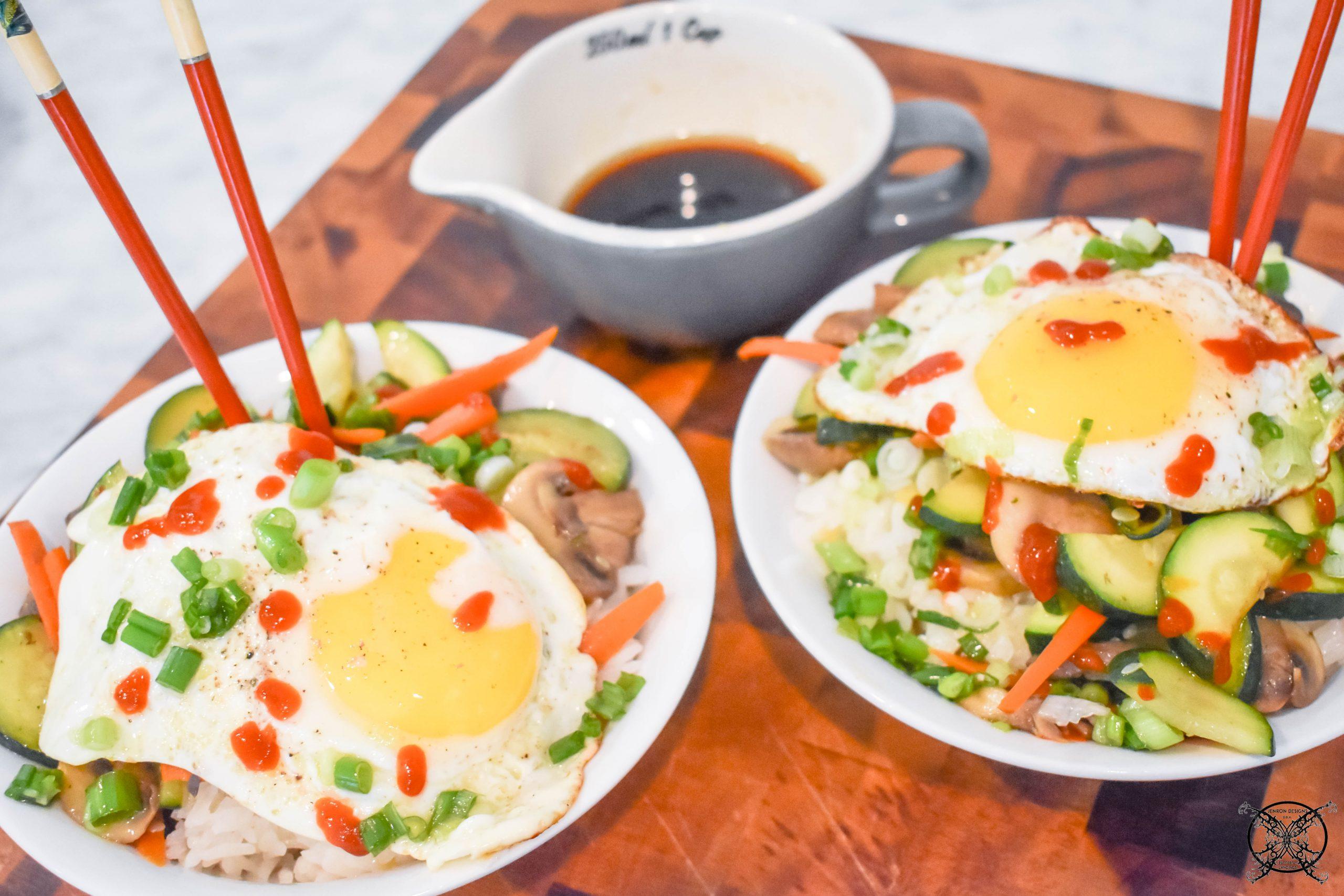 5 Easy Rice Bowls Sunny Side Up JENRON DESIGNS