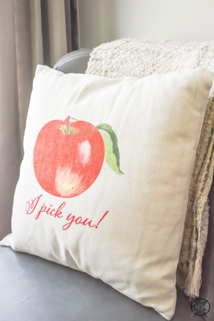 Apple PIckin' Fall Pillow JENRON DESIGNS.