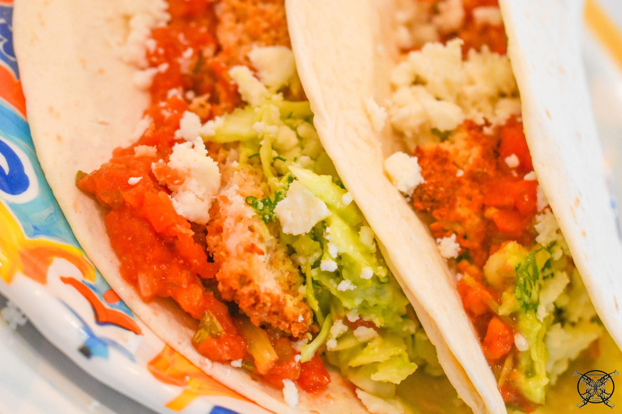 Baha Fish Tacos Plate JENRON DESIGNS