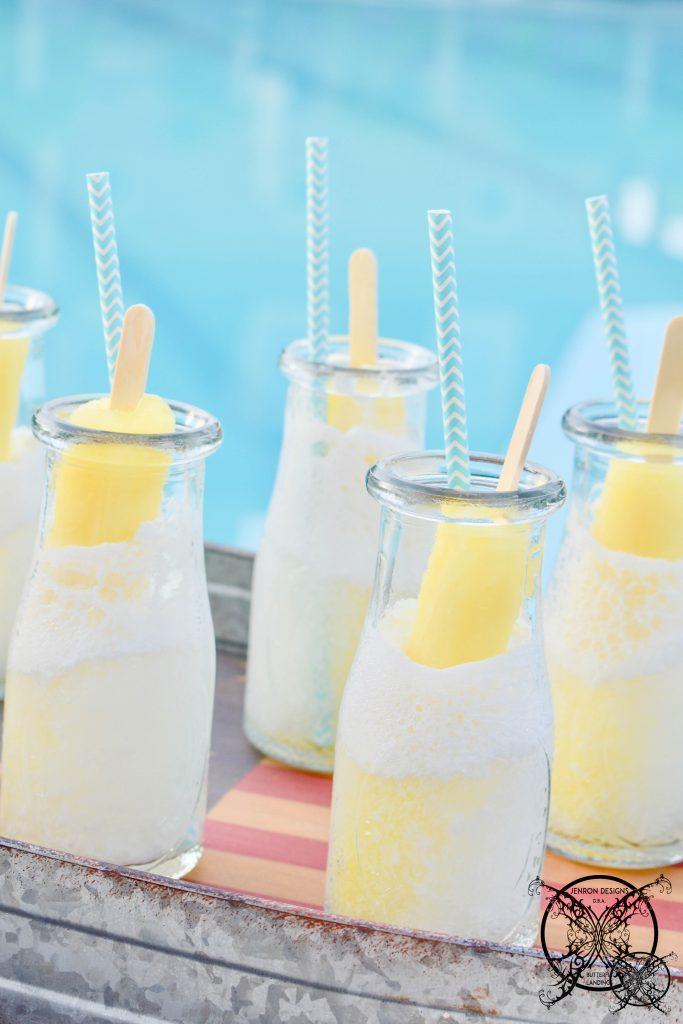 Banana Pudding Poptail Cocktails JENRON DESIGNS