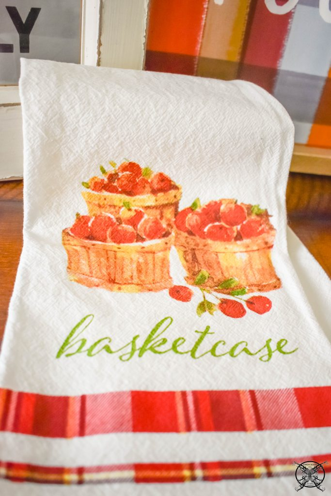 Basketcase TeaTowel JENRON DESIGNS.