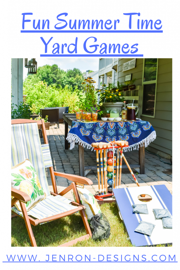 Fun Summer Time Yard Game JENRON DESIGNS