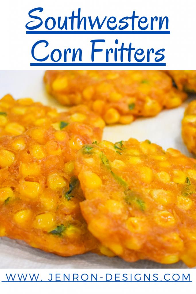 Southwestern Corn Fritters Pin JENRON DESIGNS