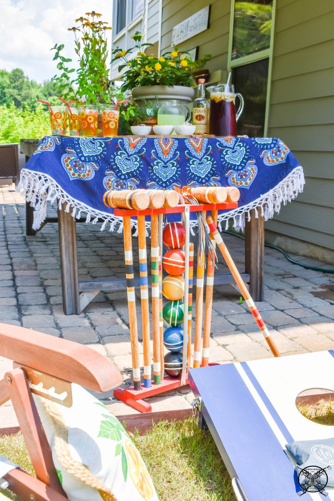 Summertimer Yard Games Croquet JENRON DESIGNS