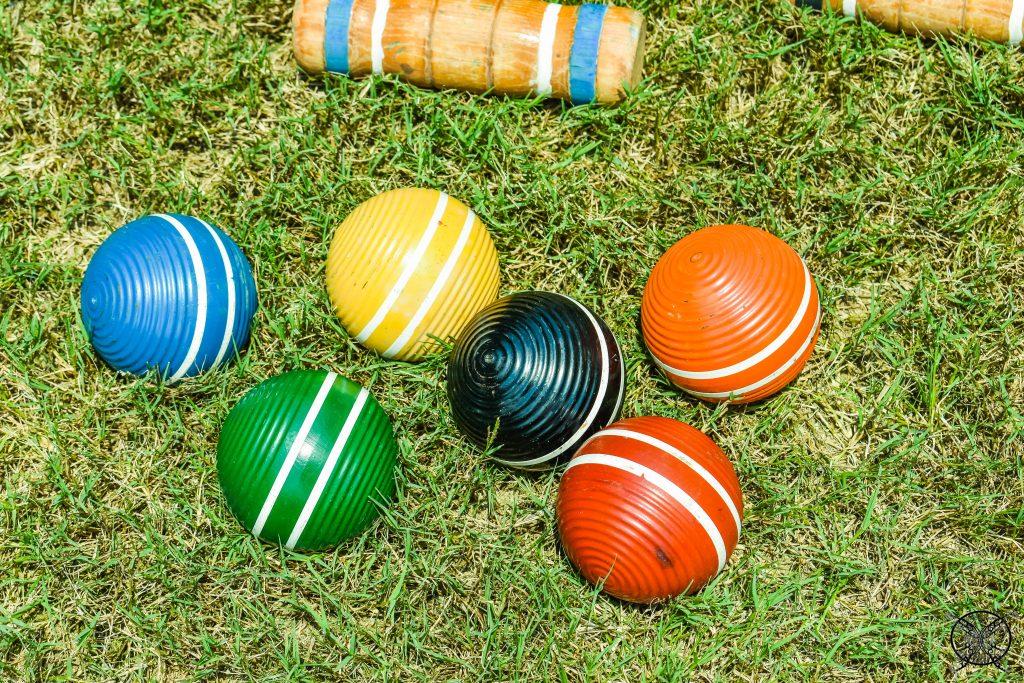 Vintage Croquet Balls JENRON DESIGNS