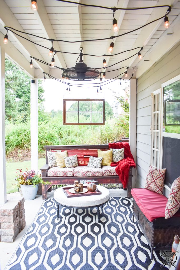 $100 Room Challenge Reveal Outdoor Patio JENRON DESIGNS