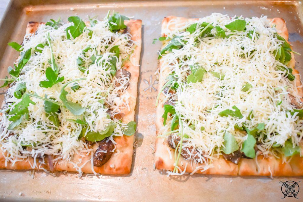 Flatbread Truffled Mushroom Pizza JENRON DESIGNS