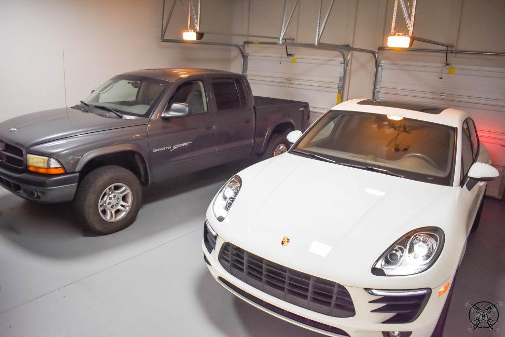 Cars in the Garage. JENRON DESIGNS
