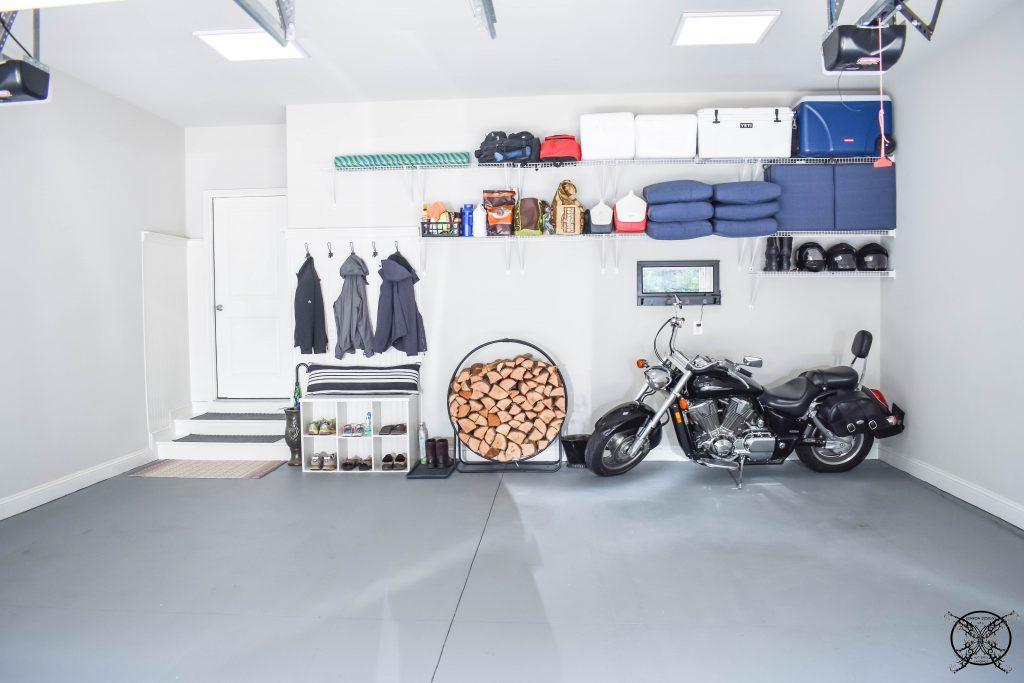 Final Garage Reveal $100 Room Challenge JENRON DESIGNS