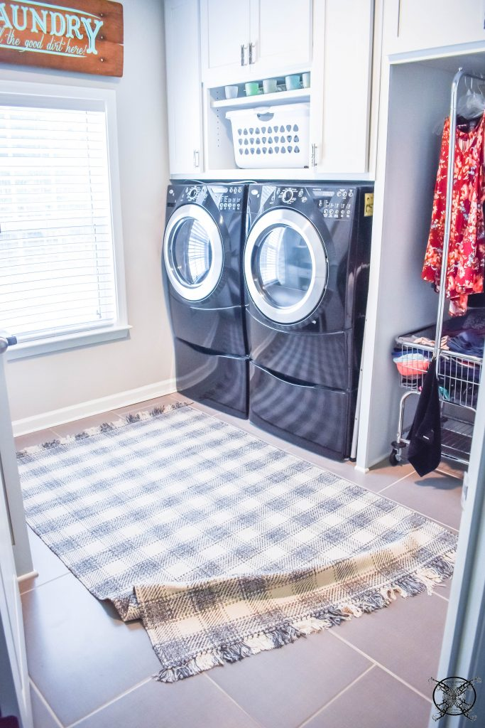 Laundry Room Rug JENRON DESIGNS