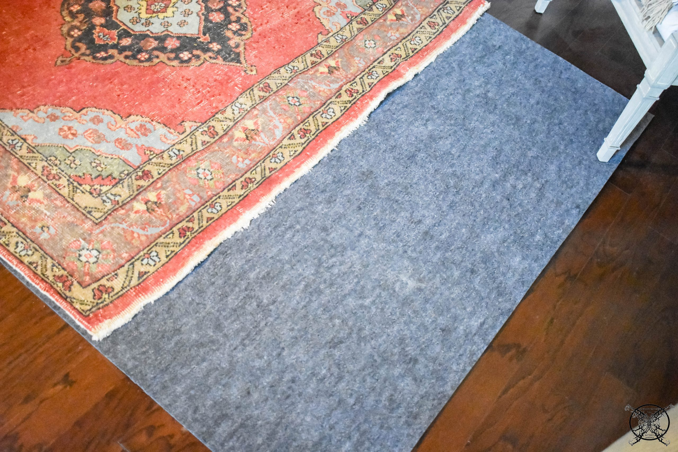 Master Bedroom Rug Adding Rug Pro Pad JENRON DESIGNS