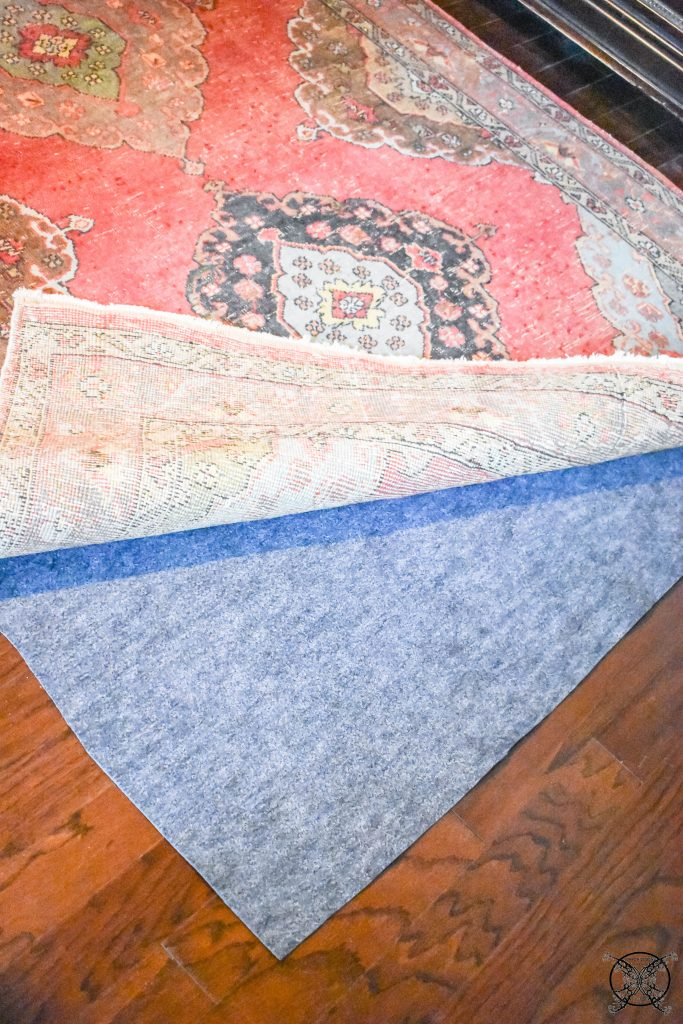 Master Bedroom Rug Pro Pad cusotm fit for Rugs JENRON DESIGNS