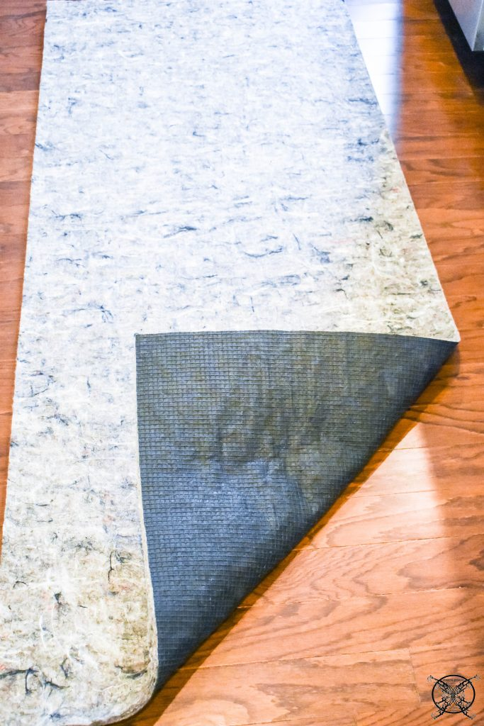 Rolling Out Superior Lock 7:16 Rug Pad JENRON DESIGNS