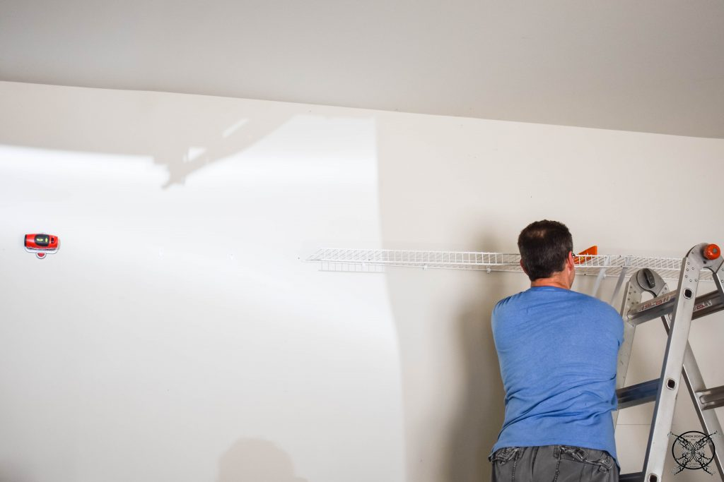 Using a Laser Level to get the Shelves Straight JENRON DESIGNS