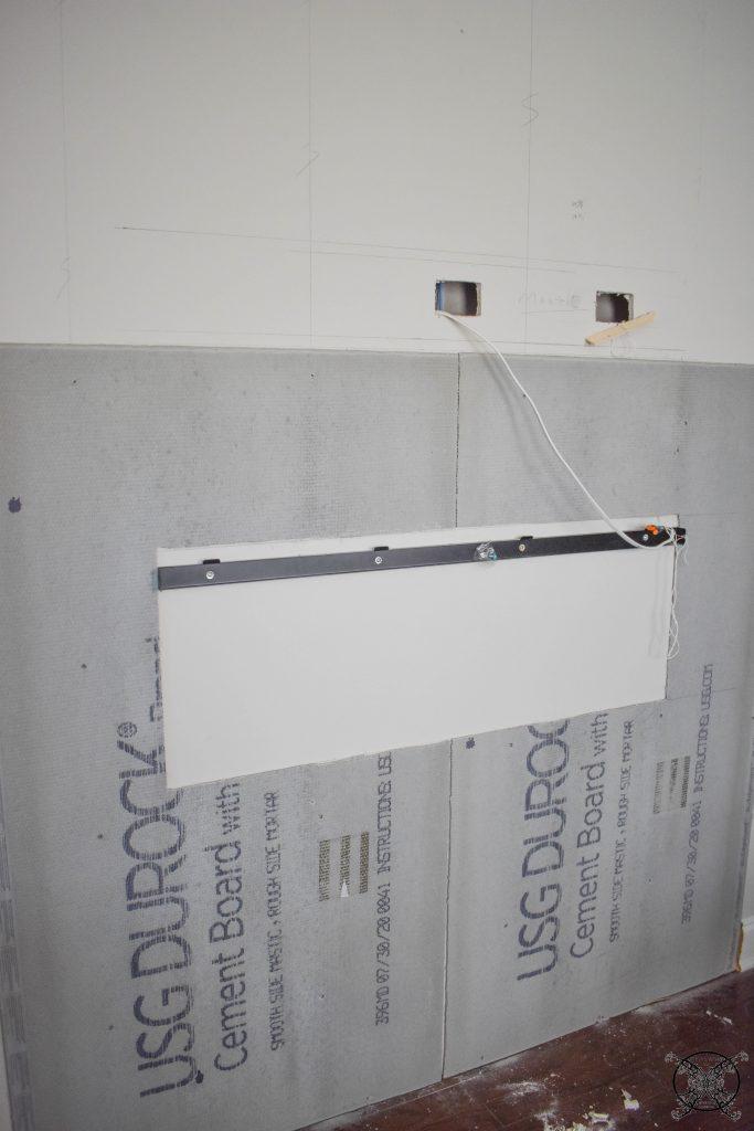 Adding Durarock Board JENRON DESIGNS