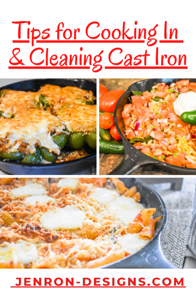 Cooking In Cast Iron JENRON DESIGN
