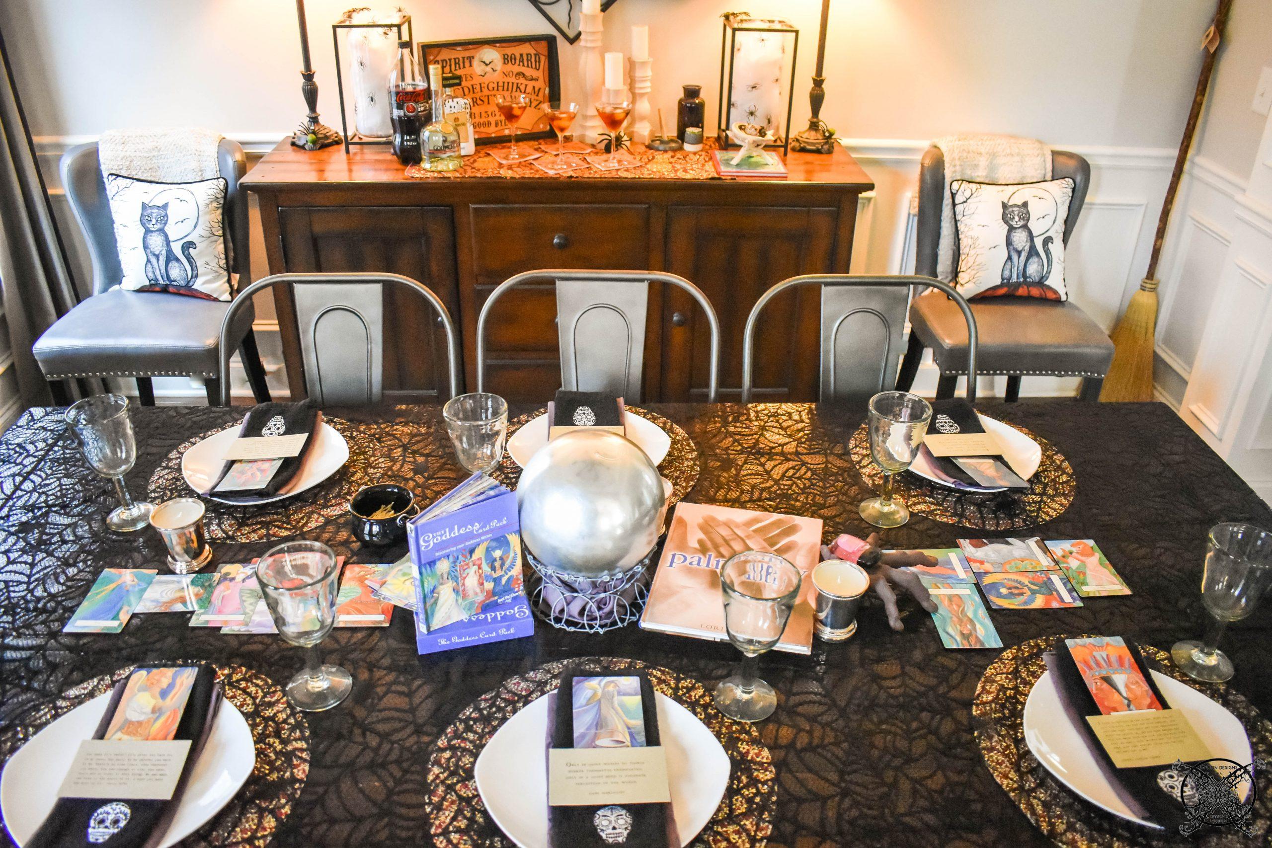 Fortune Teller's Ball Table JENRON DESIGNS