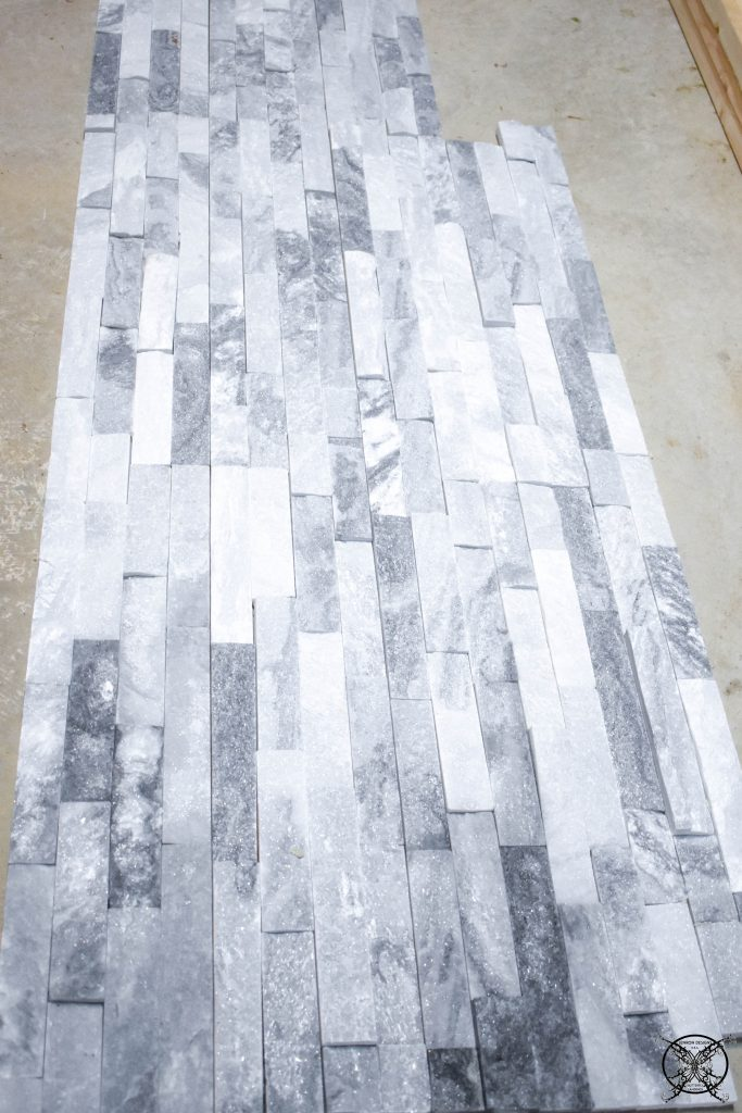 Marble Tile For Fireplace Install JENRON DESIGNS