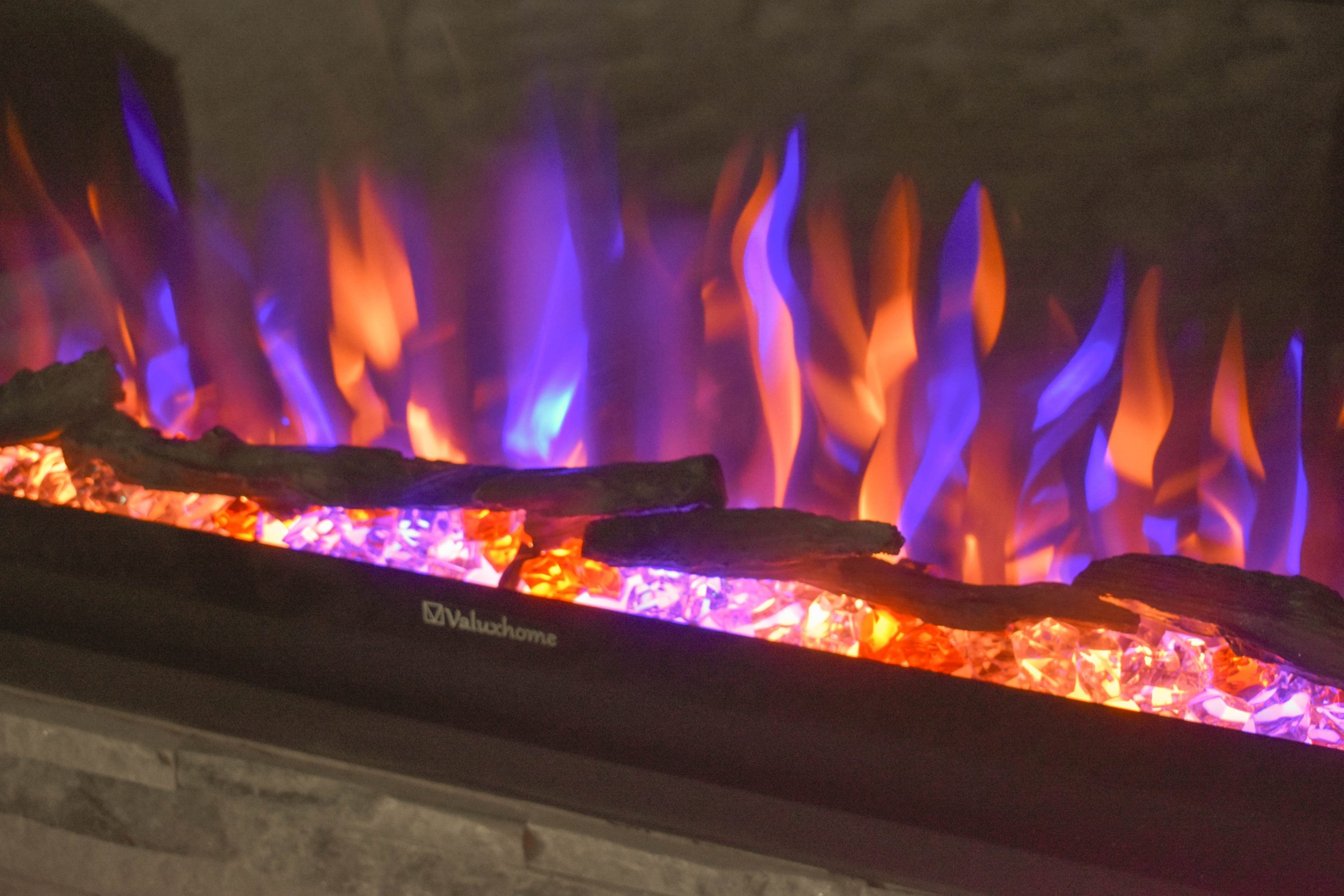 Pretty Multi Flames of our Electric Fireplace JENRON DESIGNS.jpg