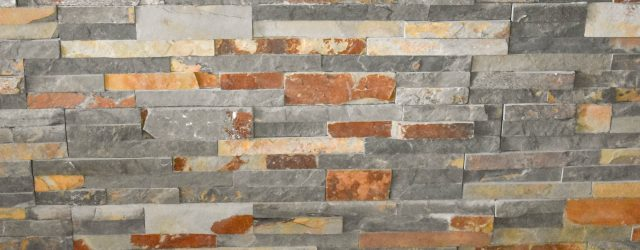 Slate & Stone Fireplace Wall JENRON DESIGNS