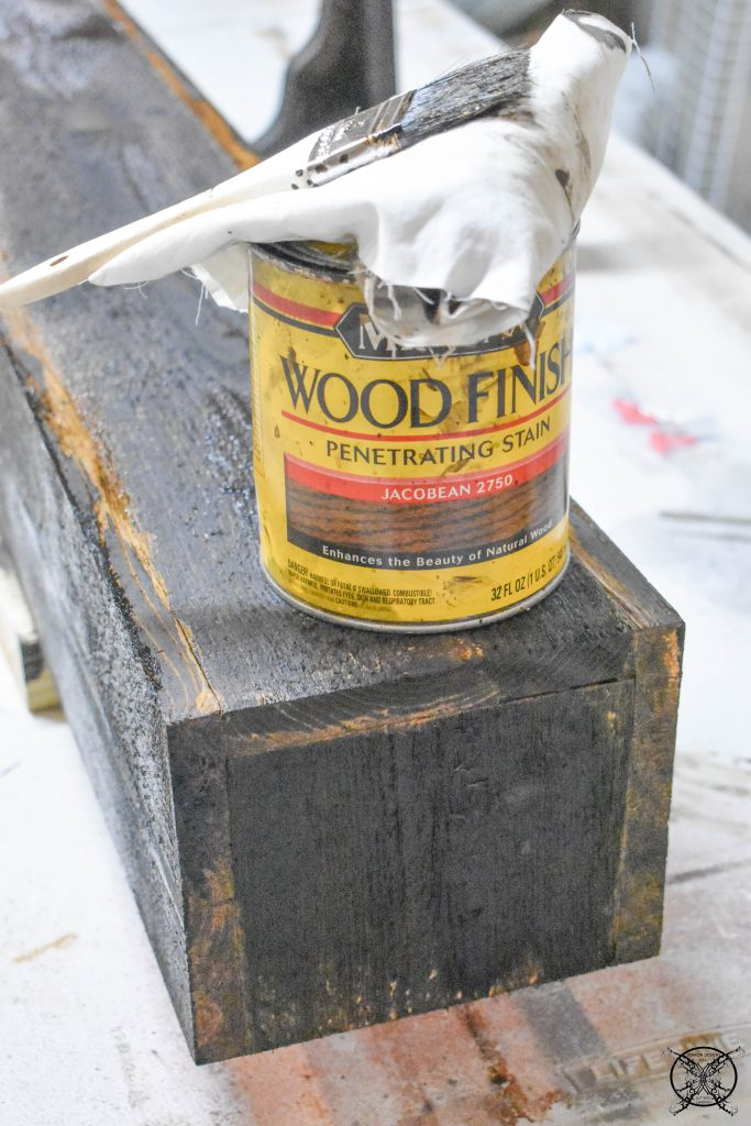 Staining A Mantle JENRON DESIGNS