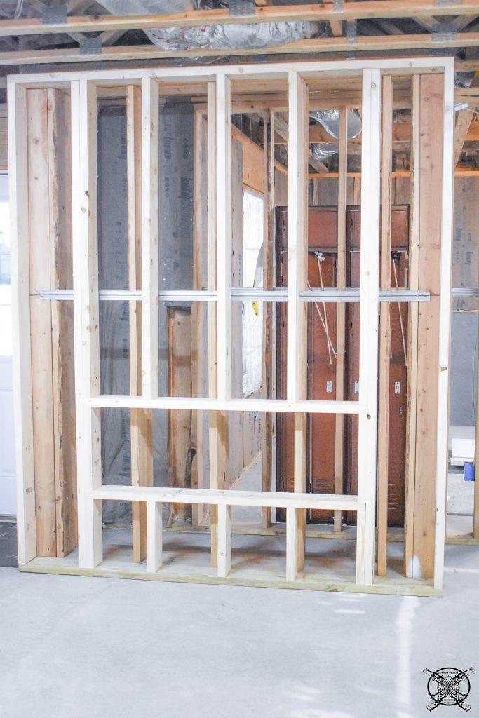 Stick Built Wall JENRON DESIGNS