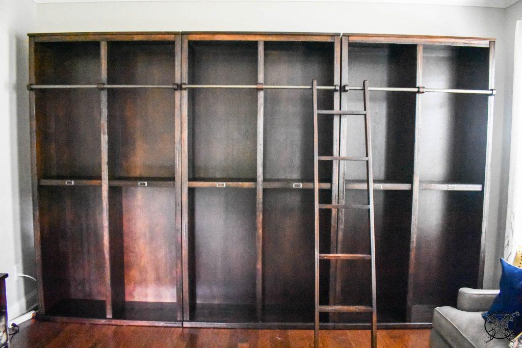 Wall Unit Bookcases JENRON DESIGNS