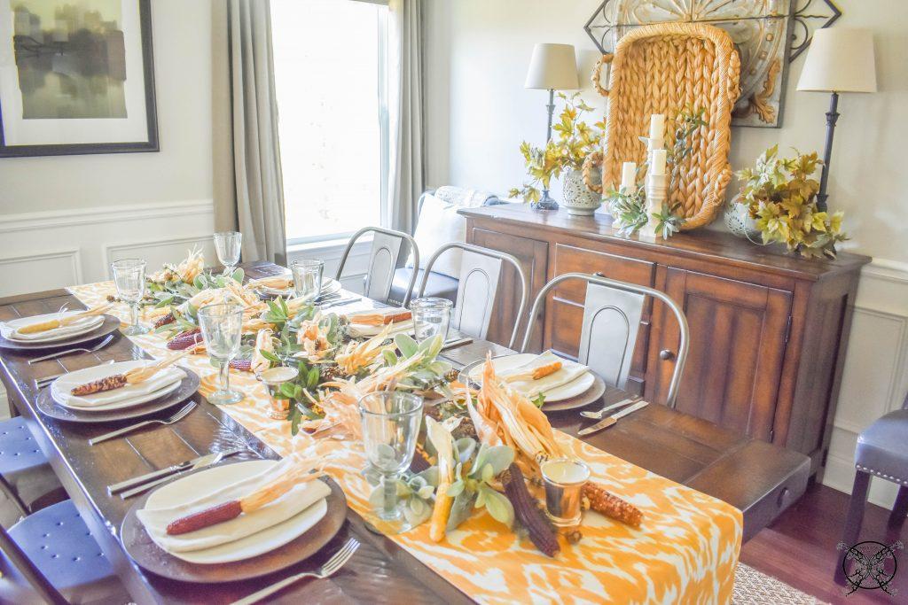 Amaizing Grace Thanksgiving Table & Buffet JENRON DESIGNS