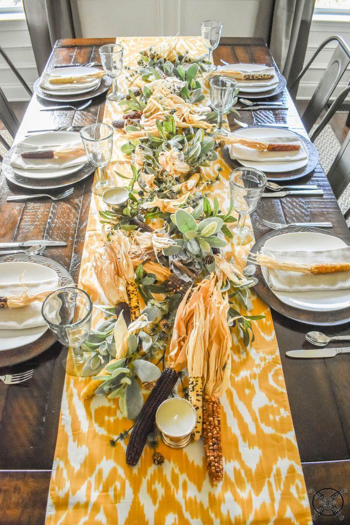 Amaizing Grace Thanksgiving Table Runner JENRON DESIGNS