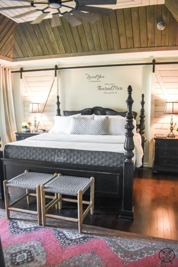 Bedroom Design with Puffy JENRON DESIGNS