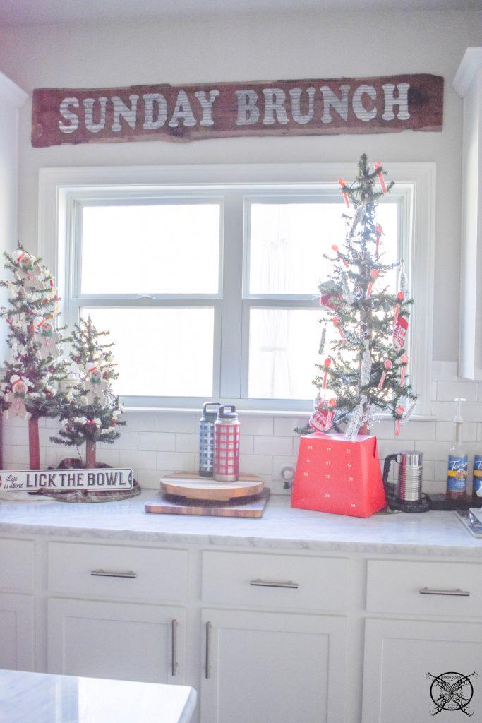 Farmhouse Kitchen Christmas Trees JENRON DESIGNS