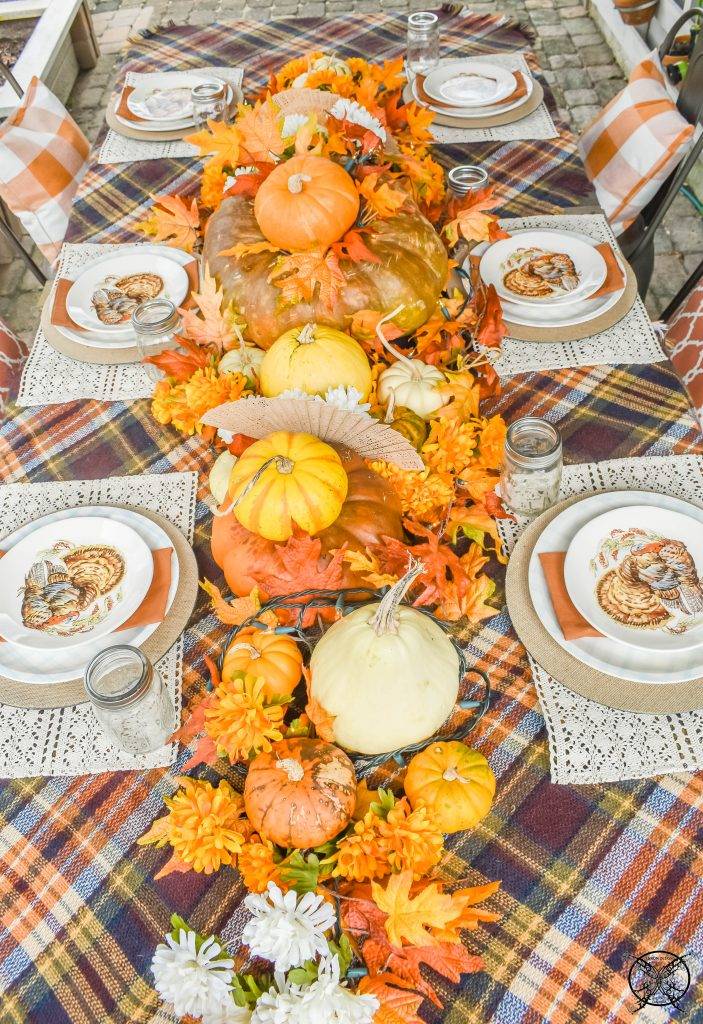 Gracious Outdoor Gathering Table Runner JENRON DESIGNS
