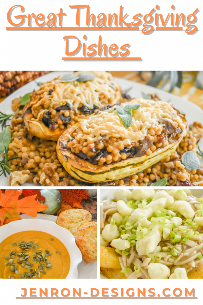 Great Thanksgiving Dishes JENRON DESIGNS