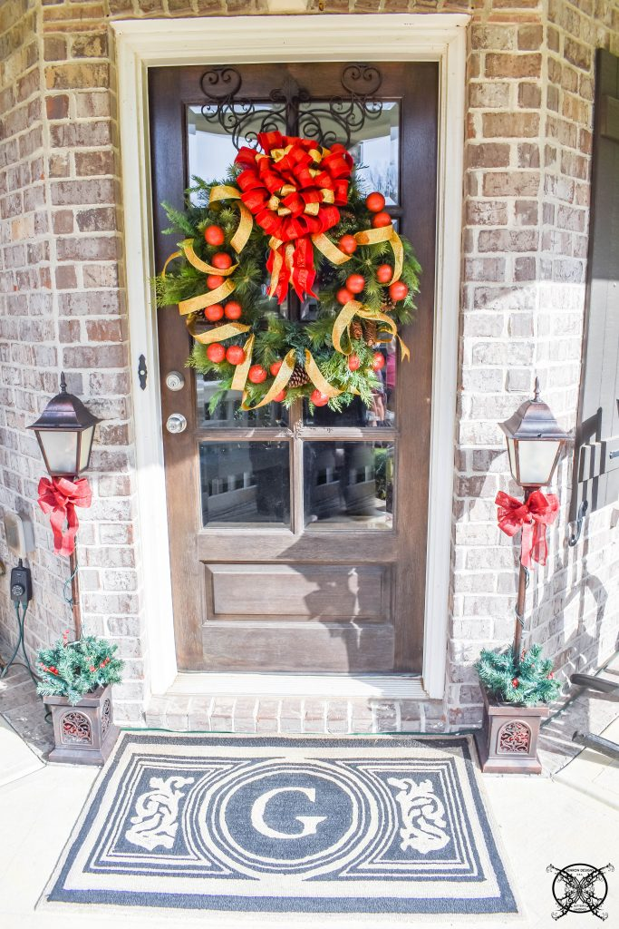 Holly Jolly Front Porch JENRON DESIGNS