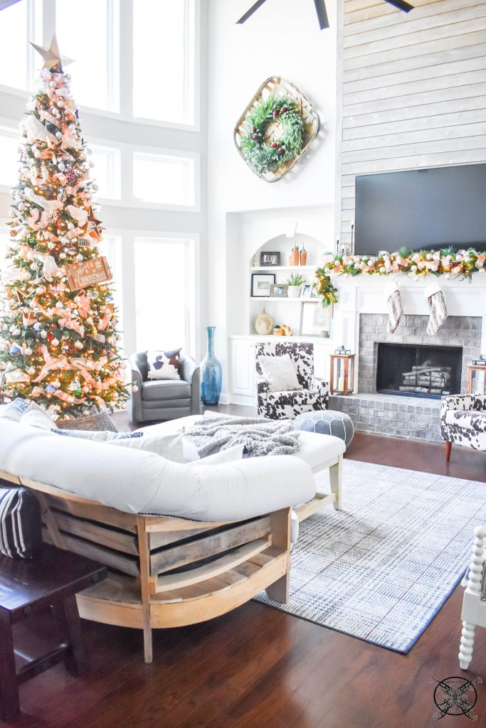 Home for the Holidays Living Room JENRON DESIGNS