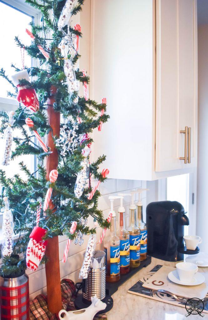 Hot Chocolate Coffee Bar Christmas Tree JENRON DESIGNS