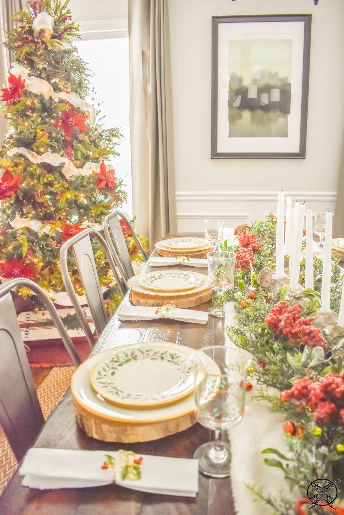 Jingle Bells Tablescape JENRON DESIGNS