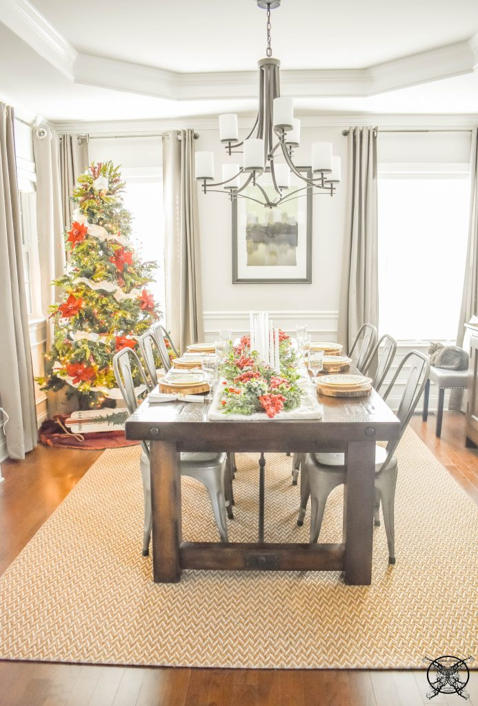 Jingle Bells in the Dining Room JENRON DESIGNS