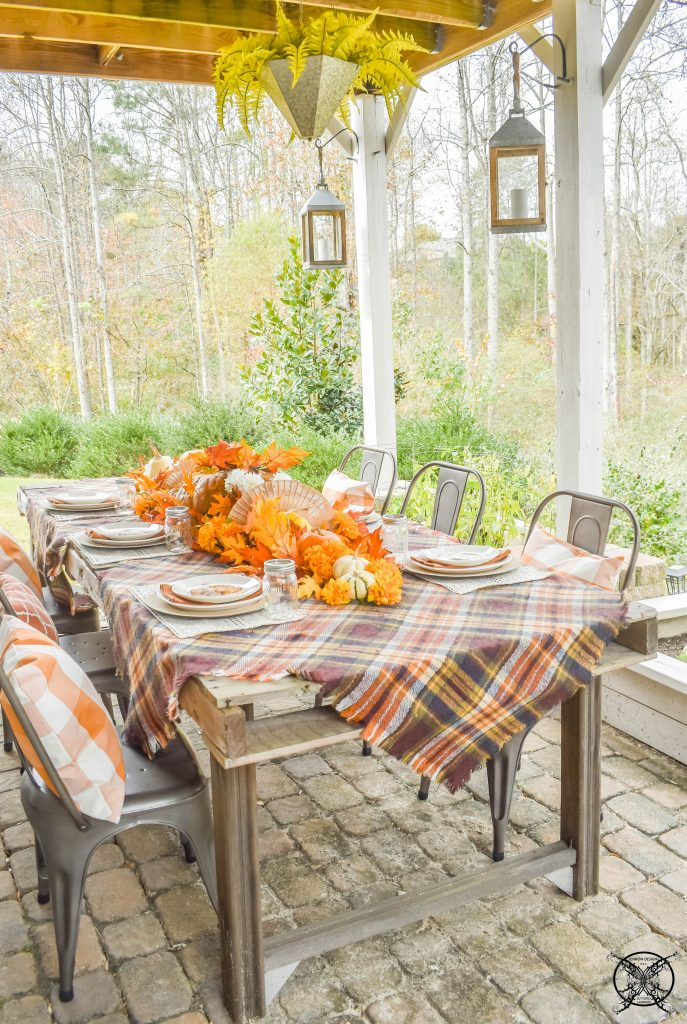 Outdoor Thanksgiving Table JENRON DESIGNS
