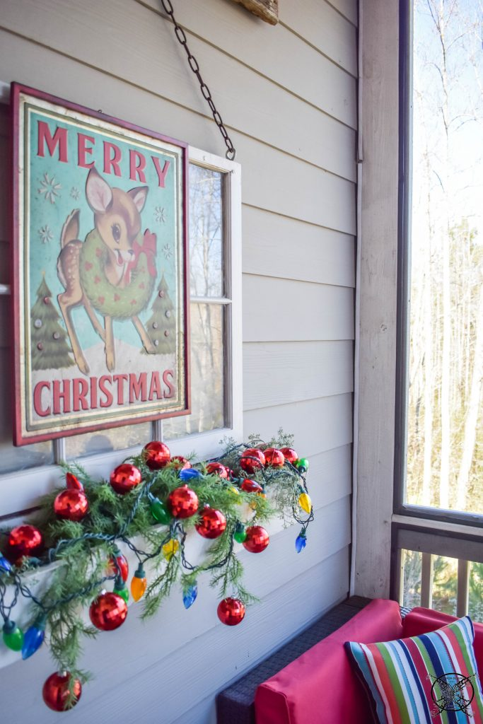 Rudolph the Red Nosed Reindeer Porch JENRON DESIGNS