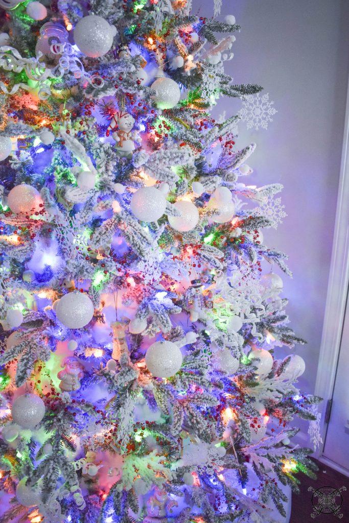 Winter Wonderland Retro Colored Lights JENRON DESIGNS