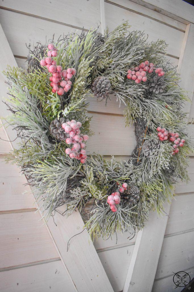 Winter Wonderland Shiplap Wreaths JENRON DESIGNS