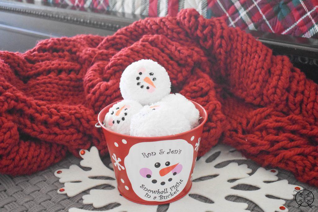 Winter Wonderland Snow Ball Fight JENRON DESIGNS