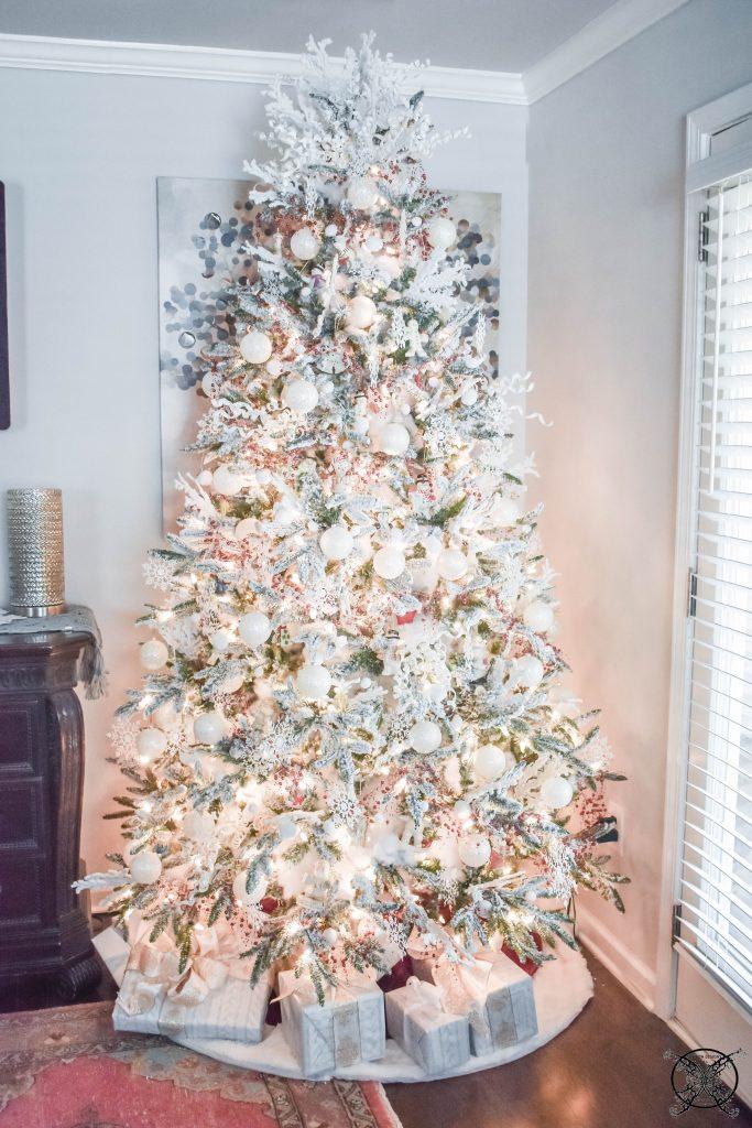 Winter Wonderland White Tree JENRON DESIGNS