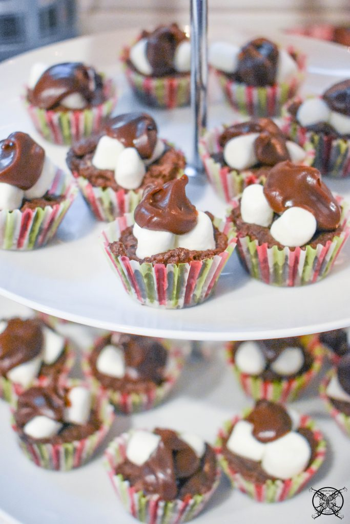 Creme De Menthe Cocoa Brownie Bites Fudge JENRON DESIGNS