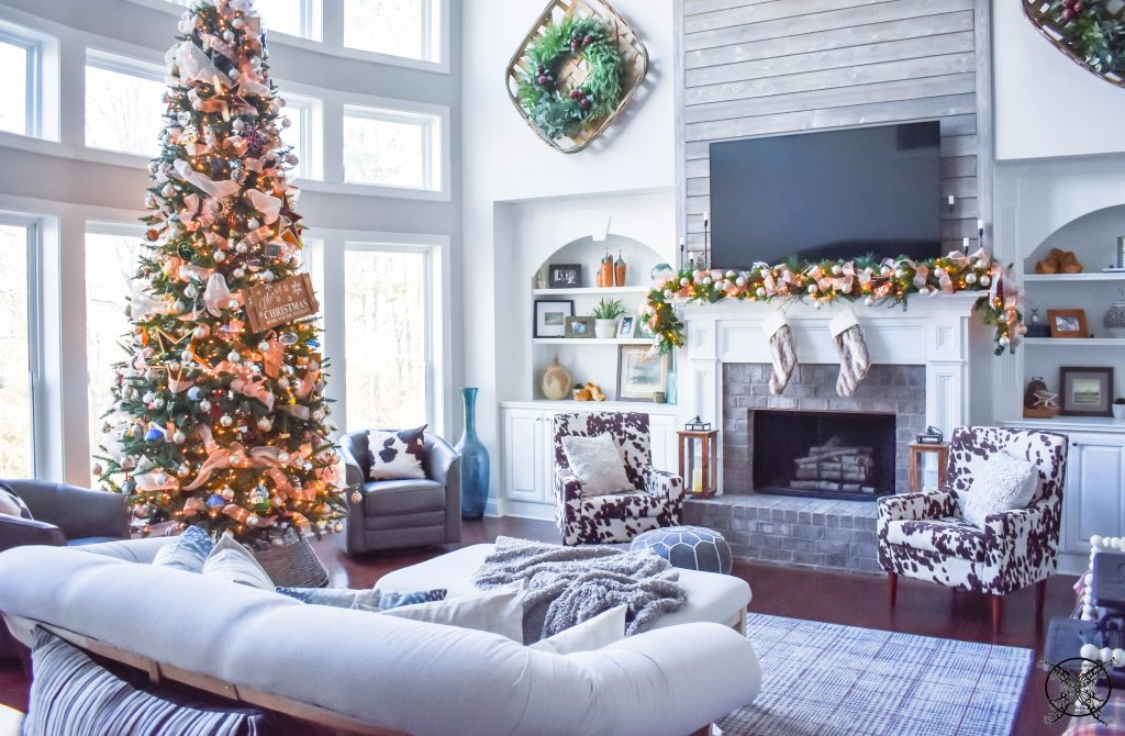 Home For The Holiday Great Room JENRON DESIGNS
