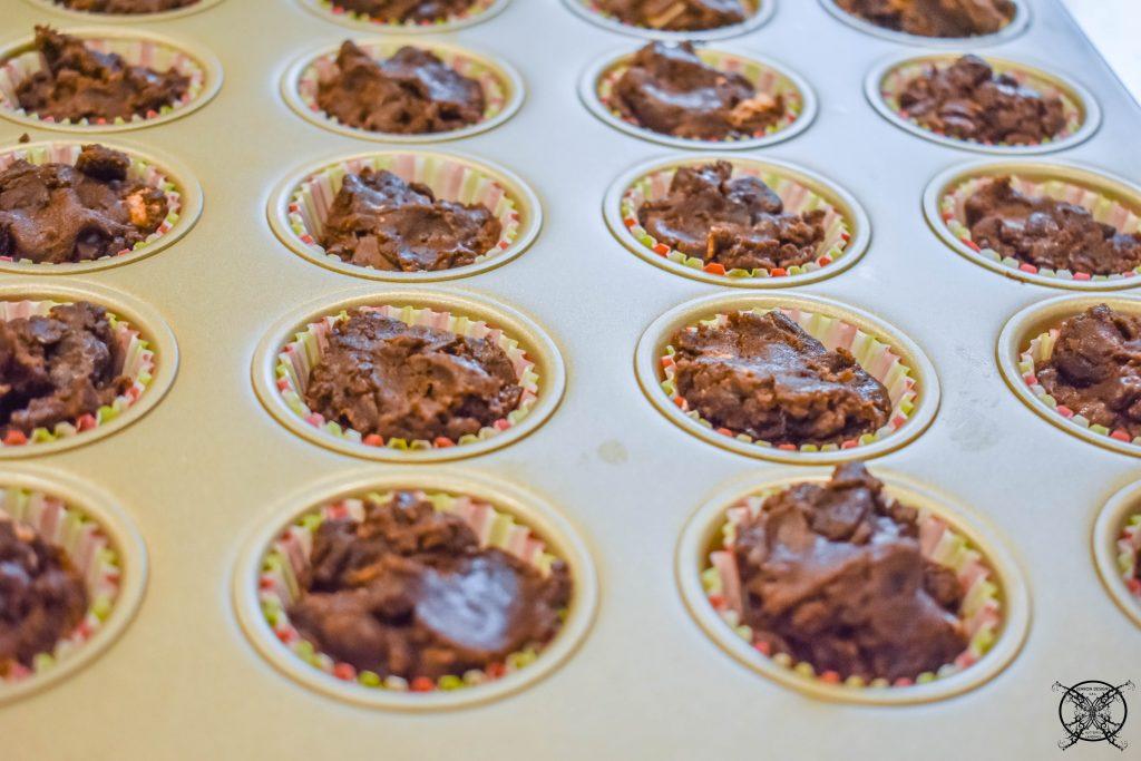 Individual Brownie Bites JENRON DESIGNS