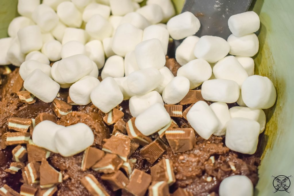 Stir in Marshmallows Brownie Bites JENRON DESIGNS